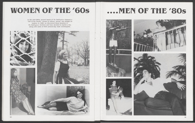 Women of the 60's... Men of the 80's