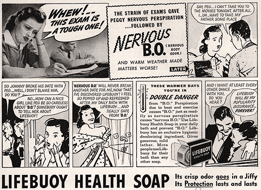 Ad for Lifebuoy soap