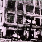 The YMCA building in Yokohama, showing damage from the Great Kanto Earthquake of 1923.