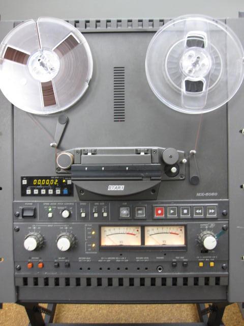 The Otari MX-5050 tape machine