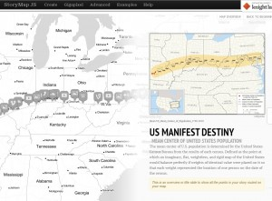 This StoryMap traces how the idea of Manifest Destiny progressed through the years and across the geography of the United States.