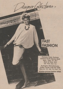 Fashion Ad, May 10, 1984