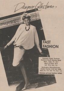 Fashion Ad, May 10, 1984