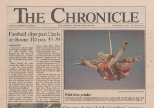 An issue of the Chronicle from 1988