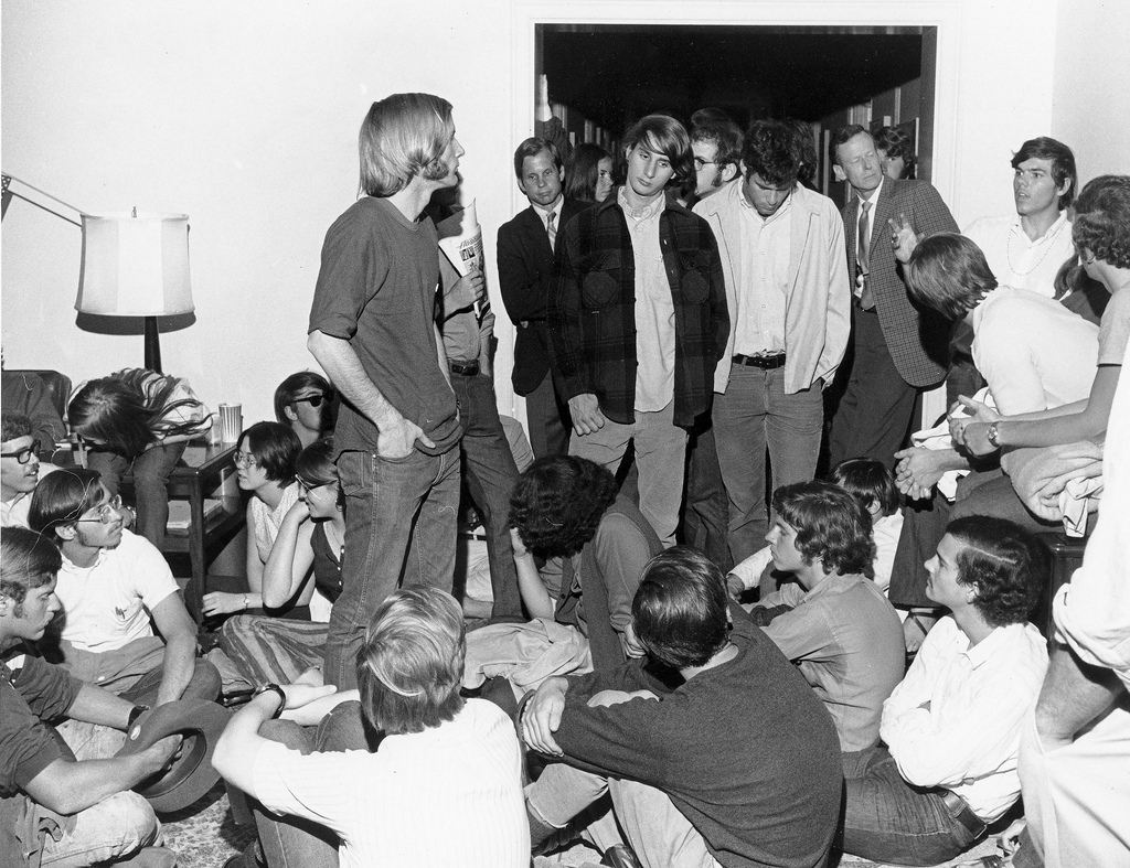 Allen Building Demonstration, 6 May 1970