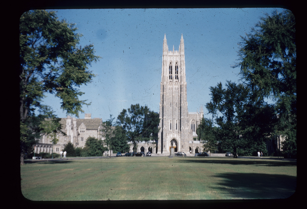 Duke Chapel, September 1950