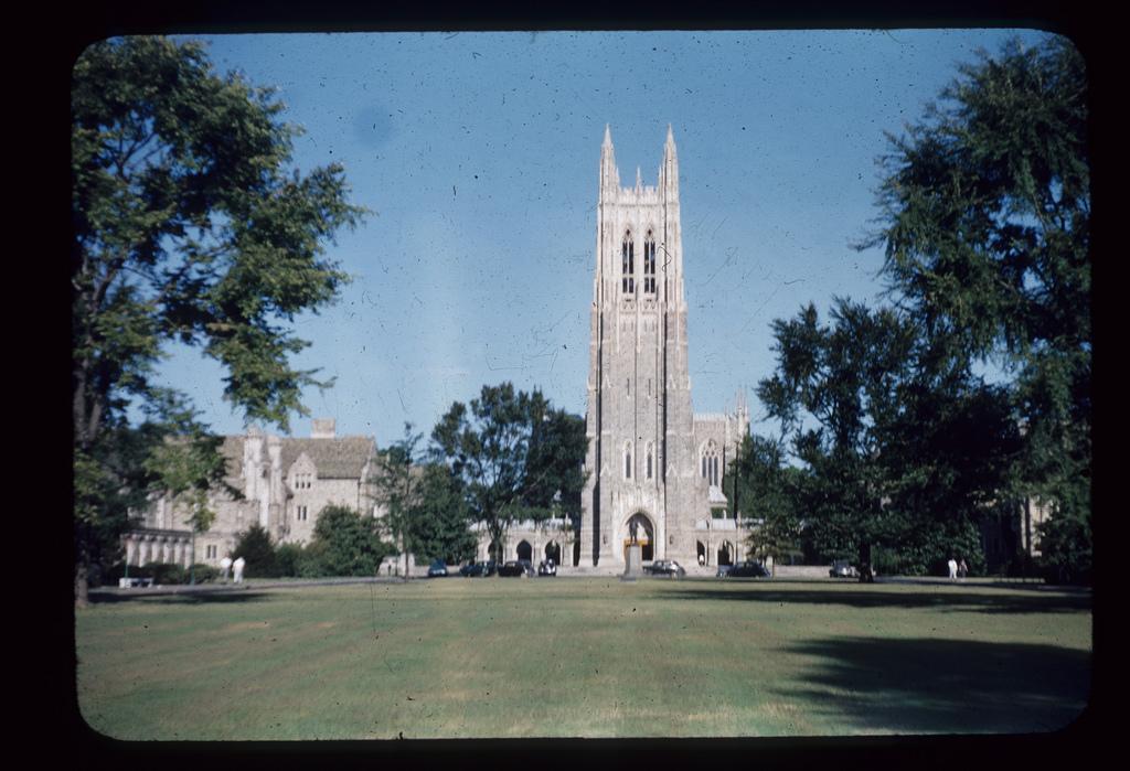 Duke Chapel, September 1950