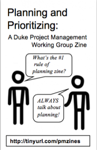 Part of a real time management zine! Click to view the whole thing.