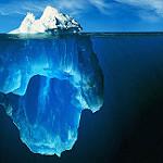 Iceberg.  Fickr user: pere.
