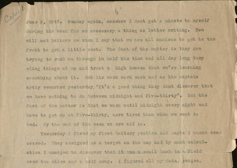letter excerpt