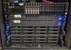 Photo of the VDI server