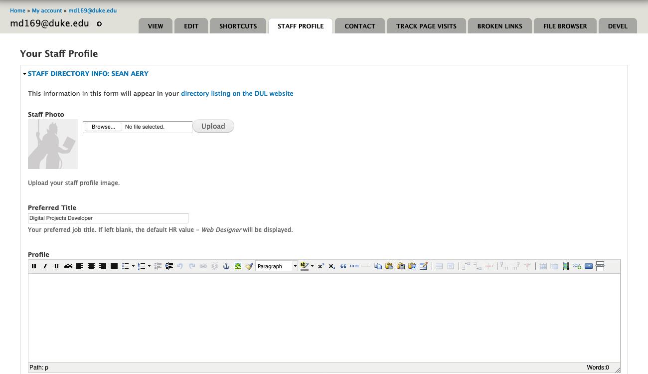 drupal edit form