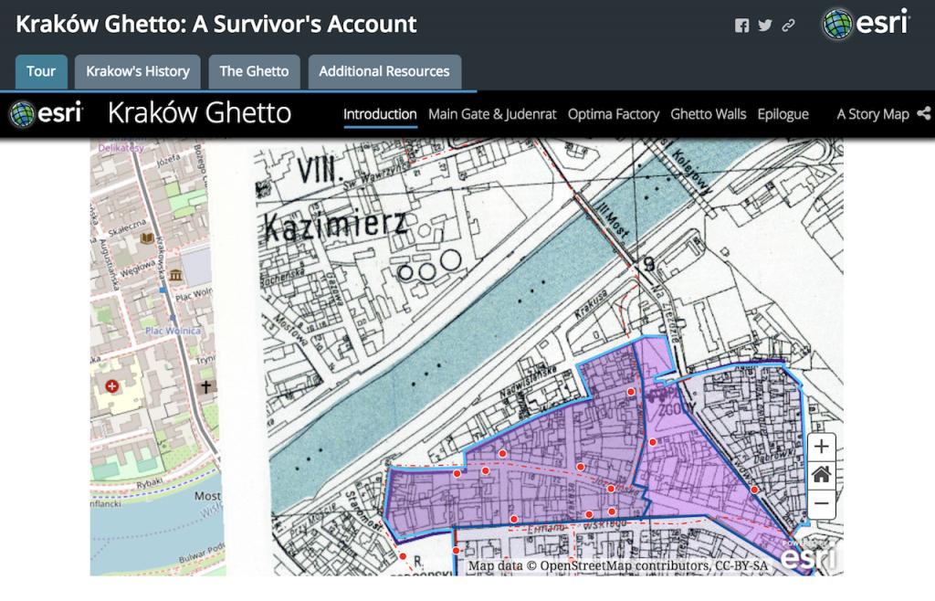 Krakow Story Map