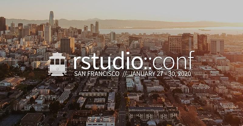 RStudio 2020 Conference Logo