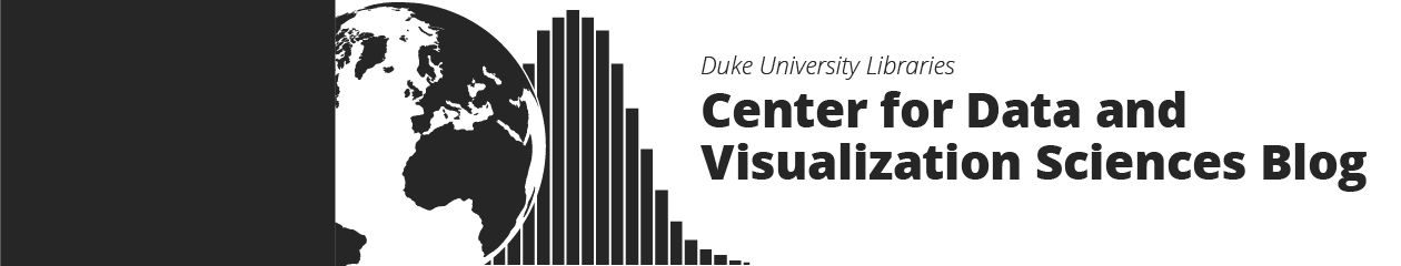 Duke Libraries Center for Data and Visualization Sciences