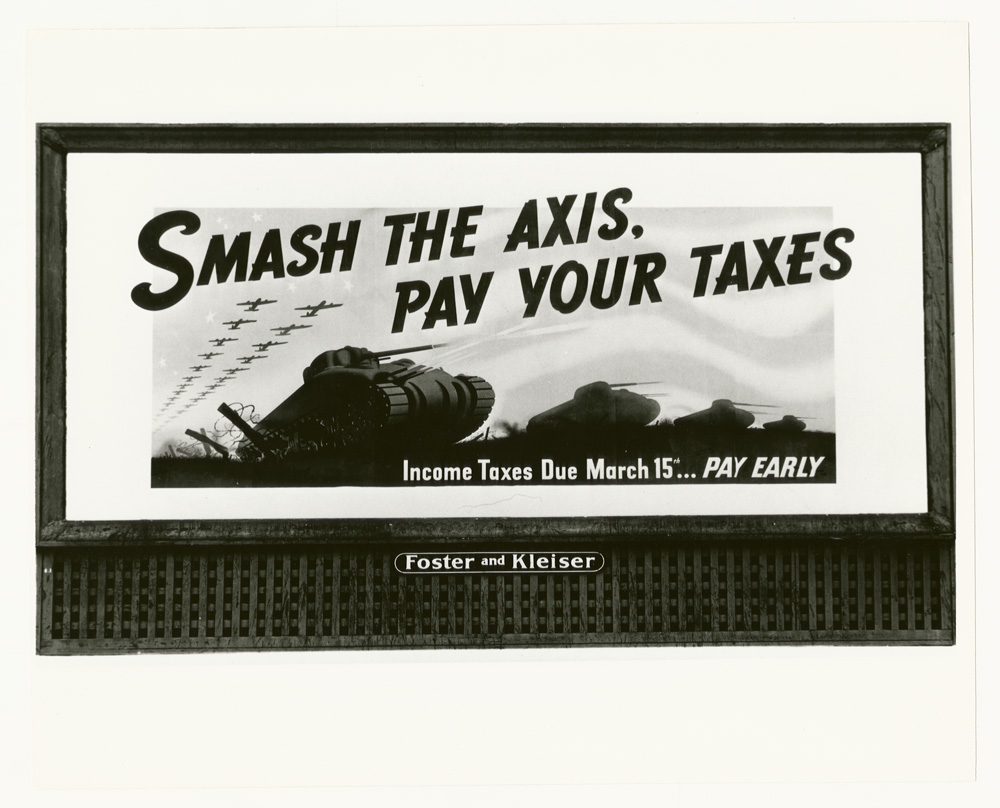 Smash the Axis, Pay your Taxes
