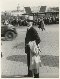 Frank W. Fetter, Moscow, 1930