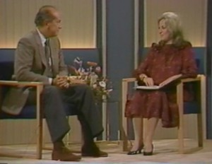 Barbaralee Diamonstein-Spielvogel interviews Oscar de la Renta, 1984