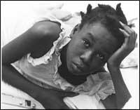 Photo of Haitian girl