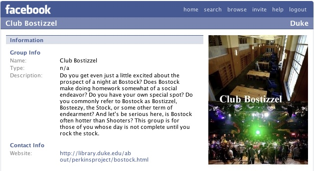 Club Bostizzel: Facebook
