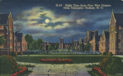 West Campus postcard