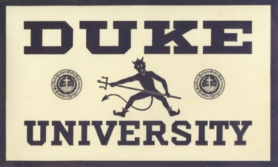 Duke decal from the 1920s