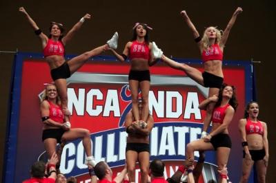 Cheerleaders - photo courtesy of Kate Torgovnick
