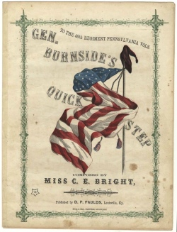 Historical sheet music