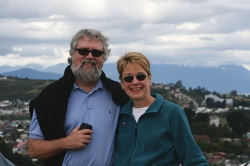 Jim Roberts and Deborah Jakubs