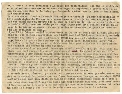 Letter courtesy of Patrick Stawski