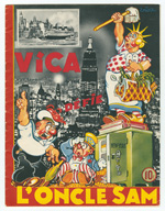 cover image of Vica défie l'Oncle Sam