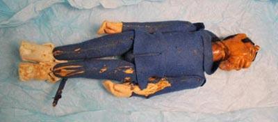 Blue Devil Doll