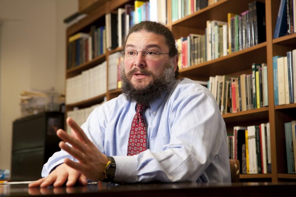 Joshua D. Sosin, Associate Professor of Classical Studies and History, and Director of the Duke Collaboratory for Classics Computing.