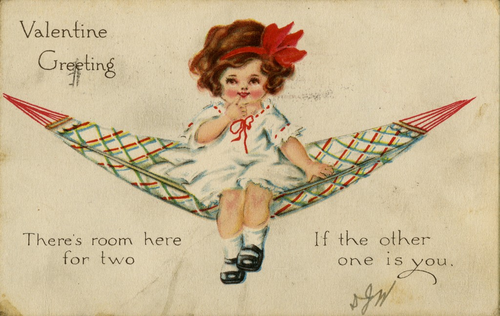 Valentine Card. David M. Rubenstein Rare Book & Manuscript Library.