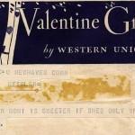 Unsigned telegram to Ella Fountain Keesler [Pratt]. Duke University Archives.