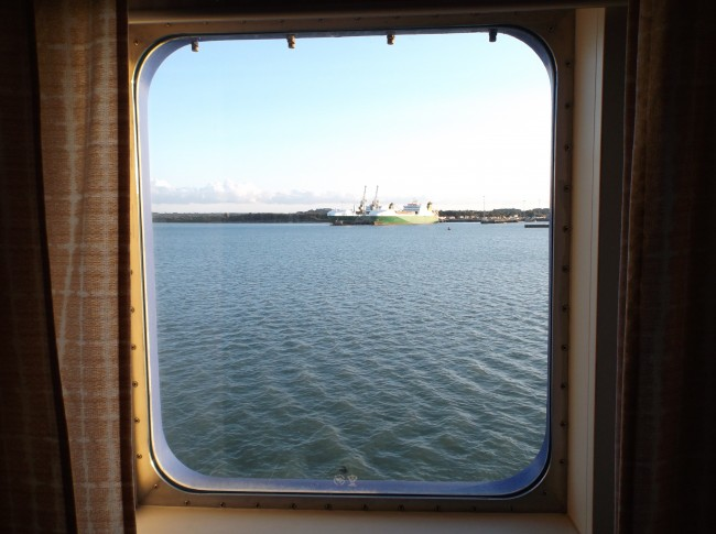 cabin porthole view