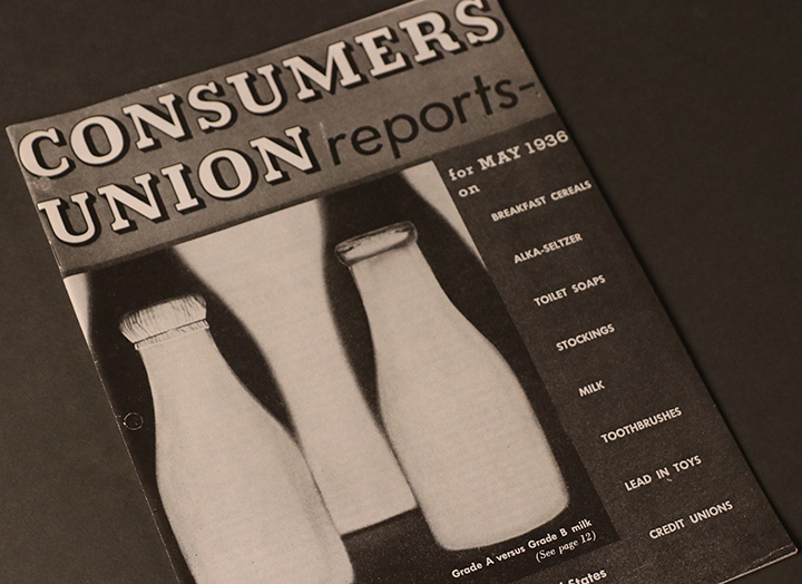 Volume 1 Issue 1 of Consumers Union Reports