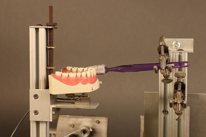 Toothbrush tester