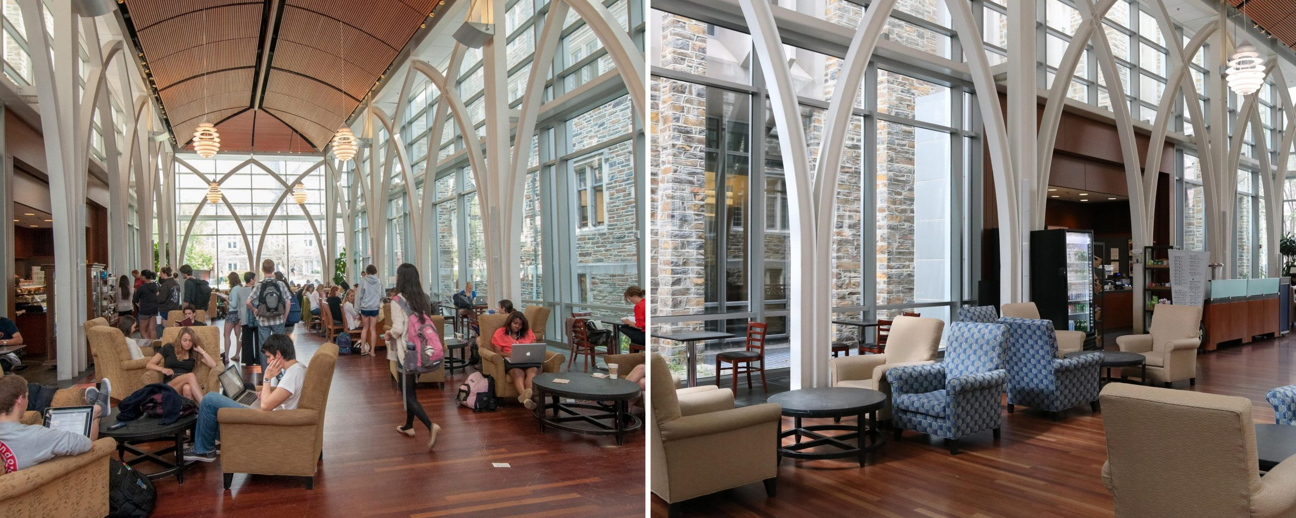 Von der Heyden Pavilion Before and After