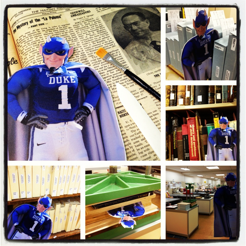 Where In The World Is The Flat Blue Devil? - Preservation