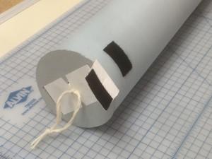 Tube Cap V. 2.0 on a tube.
