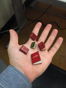 handful of miniatures