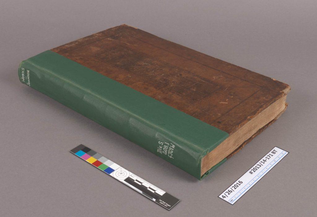 Works of Samuel Johnson, Spine #1