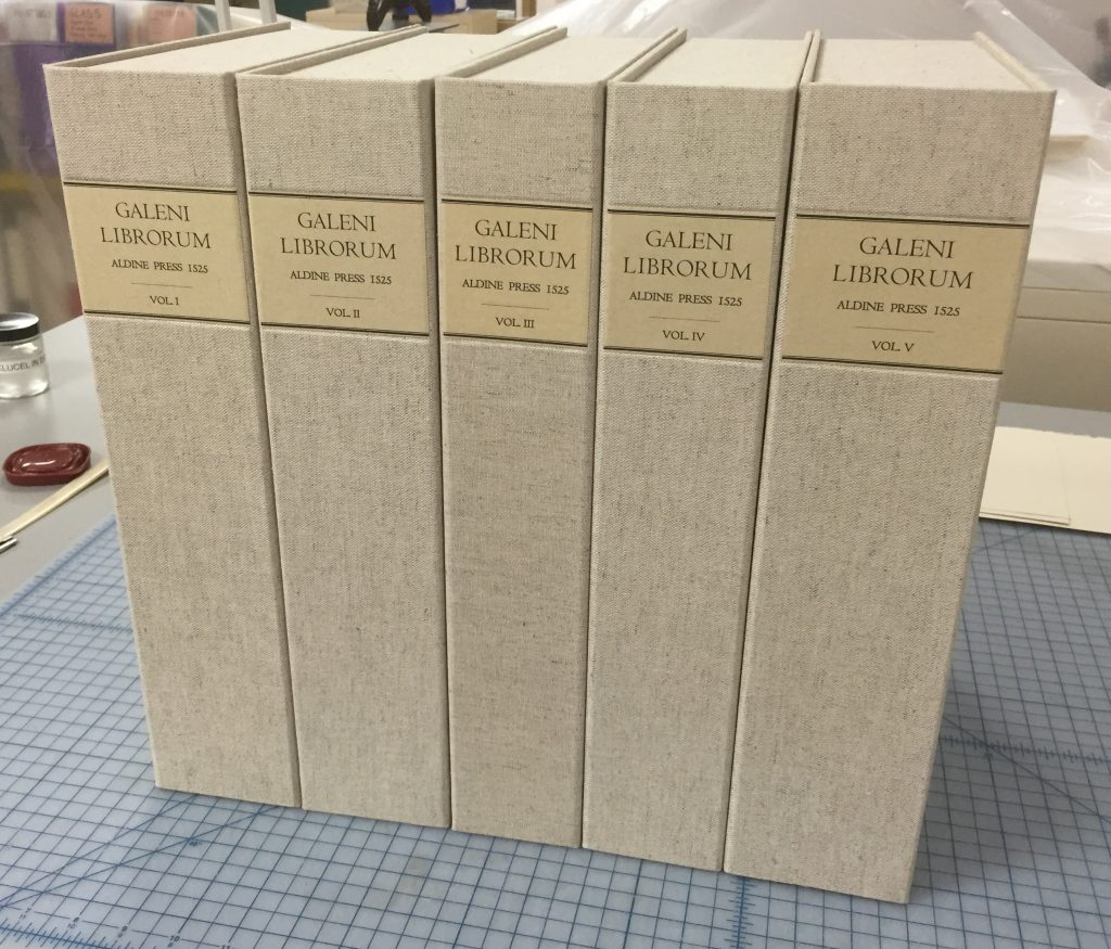 5 Volumes of Aldine Galen