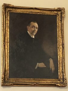 Benjamin Newton Duke by C.S. Wiltschek in the Gothic Reading Room