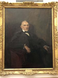 Washington Duke by John Da Costa in Lilly Library