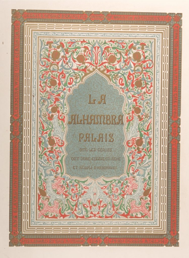 Title page of Alhambra
