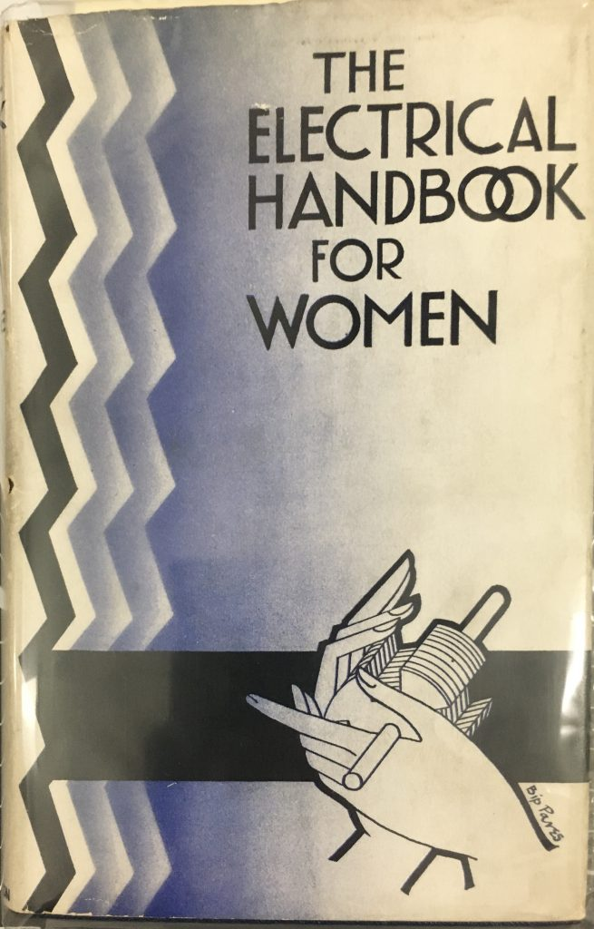 front cover of electrical handbook for women
