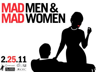 Mad Men & Mad Women Party Logo
