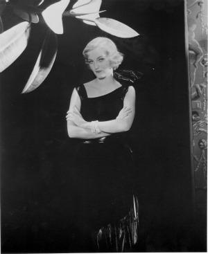 Doris Duke in evening gown